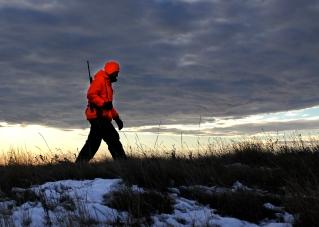 Deer Hunter Walking NDGF